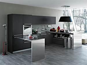 Aménagement Cuisine En U : id e am nagement cuisine 50 int rieurs modernes ~ Melissatoandfro.com Idées de Décoration