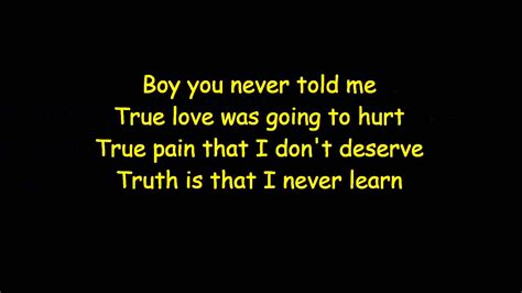 Halsey (lyrics)