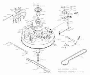 Dixon Zeeter Hl 30  2004  Parts Diagram For Mower Deck