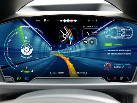 Digital Dashboard Cars by Car Dashboard 2 Auto Interior Cluster Uxデザイン