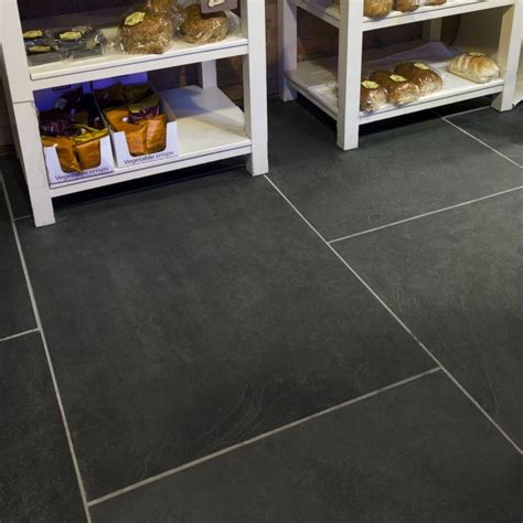 large tiles for kitchen floor large 30mm thick black calibrated slate tiles mrs stone store
