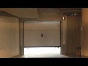 porte de garage sectionnelle plafond normstahl g60 posee With port de garage sectionnelle