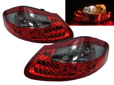 Boxster 986 1996-2004 Led Tail Rear Light Red/clear For