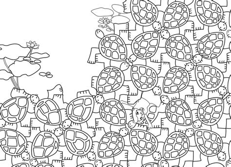 Kleurplaat Esher by 20 Free Printable Tessellation Coloring Pages