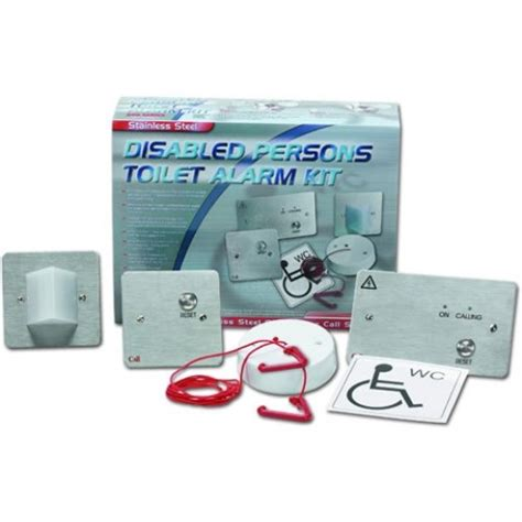 c tec nc951 ss stainless steel emergency assistance alarm kit rgl disabled alarms