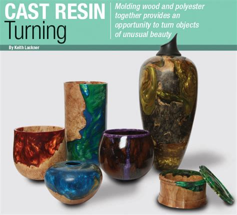 cast resin turning