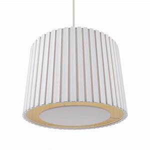 Cream mm pleated non electric lamp shade ceiling light