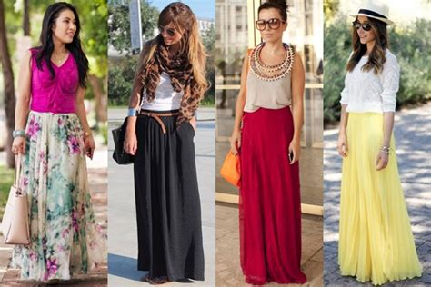 How to Wear and What to Wear with Long Skirts (Qu0026A ...