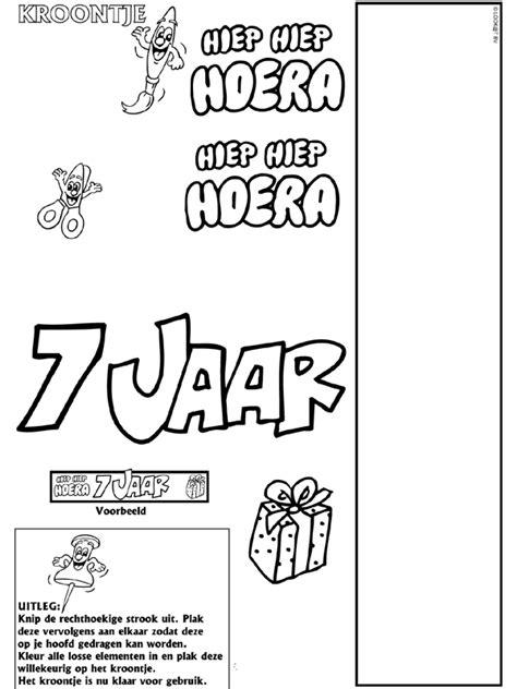 Hoera 38 Jaar Kleurplaat by Pin Hoera Jaar Kleurplaten Verjaardag Ajilbabcom Portal On