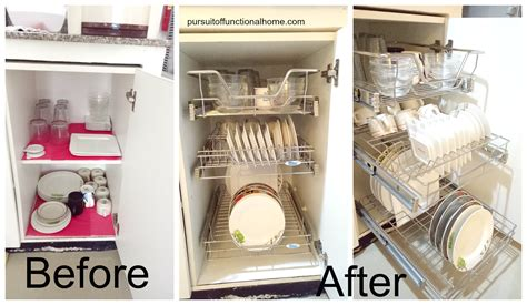 Pull Out Kitchen Wire Rack  Pursuit Of Functional Home