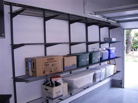 Shelving Your Garage by Shelves For Garage Garage Garage Storage Shelves