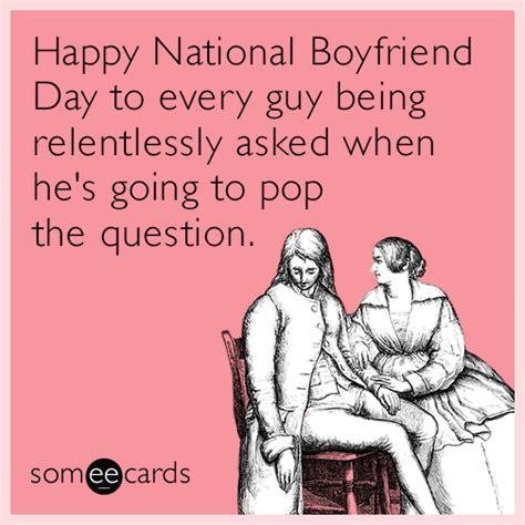 happy national boyfriend day   guy