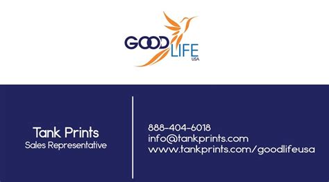 Goodlife Usa Business Card 2