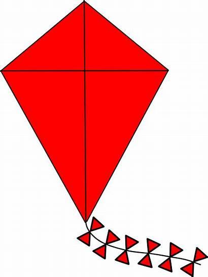 Kite Clip Clipart Clker Vector