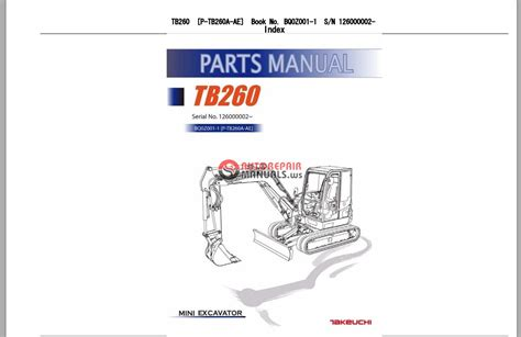 takeuchi excavator tb parts manual auto repair manual forum heavy equipment forums
