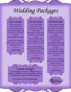wedding packages affordable wedding photography packages bay of quinte wedding planner