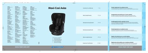siège auto bébé confort axiss mode d emploi maxi cosi axiss si 232 ge auto trouver une