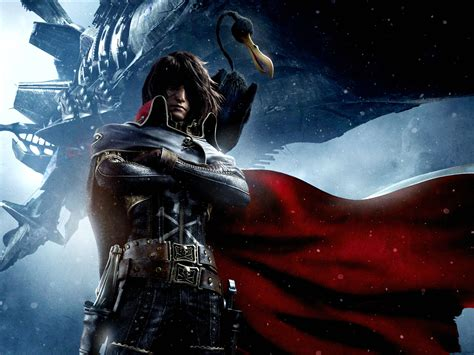 Anime Pirate Wallpaper - space pirate captain harlock adventure