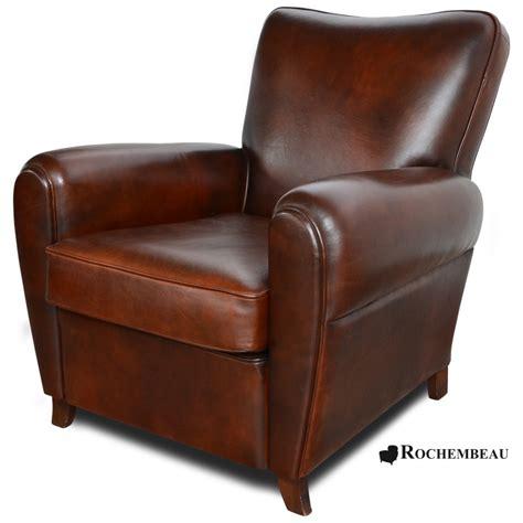 fauteuil club sheffield fauteuil club en cuir basane rochembeau
