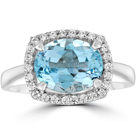 2ct Oval Blue Topaz And Natural Diamond Halo Ring 10k. Men's Rings. Outdoorsy Girl Wedding Rings. The Counselor Engagement Rings. 6 Prong Round Engagement Rings. Name Design Wedding Rings. Terracotta Rings. Rosebud Wedding Rings. Stacking Rings