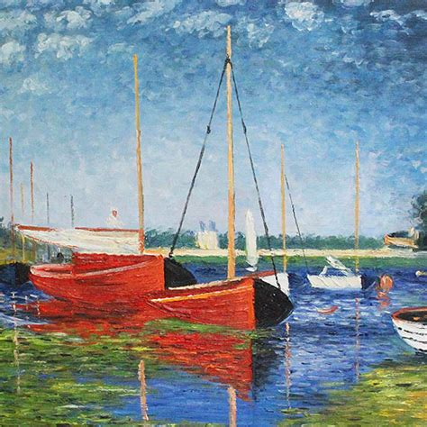 boat sailboat paintings canvas art reproduction oil