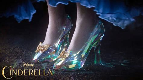 cinderella  glass slipper youtube