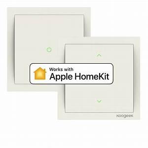 Apple Homekit Steckdose : neu von koogeek wlan lichtschalter und dimmer f r homekit ~ Buech-reservation.com Haus und Dekorationen
