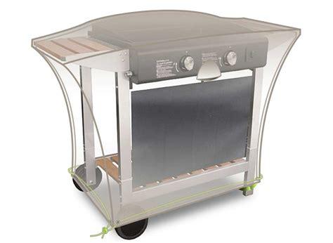 meuble cuisine 110 cm housse luxe pour meuble plancha 110x60x60 cm jardideco