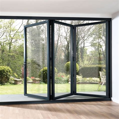 bi fold doors folding patio doors look great in your home the home