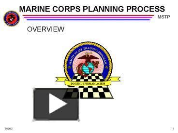 Marine Corps Powerpoint Templates by Ppt Marine Corps Planning Process Powerpoint