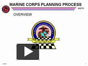 ppt marine corps planning process powerpoint With marine corps powerpoint template