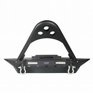 Stinger Front Bumper W   Led Lights Winch Plate For 1987