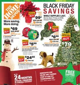 home depot black friday 2016 ad deals sales