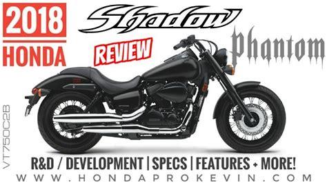 2018 Honda Shadow Phantom 750 Review Of Specs / Features