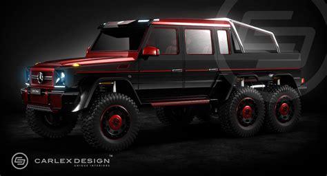 Mercedes G63 Amg 6x6 Rendering By Carlex Design
