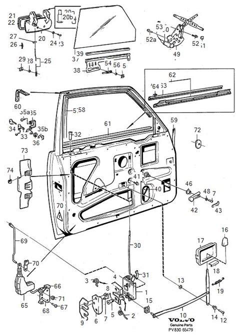 Volvo Parts Diagrams by 240 Driver S Door Lock Button Slips Door Sometimes Stays