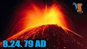 A Day In History: Mount Vesuvius Eruption - YouTube