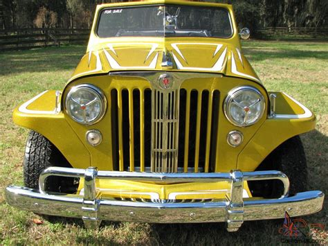 1949 willys jeepster 1949 custom willys overland jeepster street rod