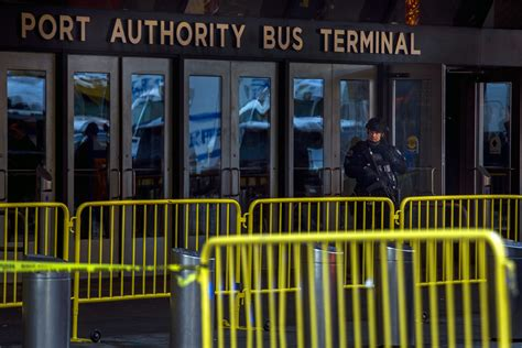 port authority terminal new york city has reopened subways after explosion