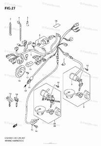 Suzuki Motorcycle 2006 Oem Parts Diagram For Wiring
