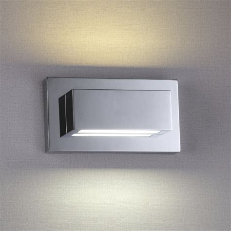1752cc led chrome up light wall light