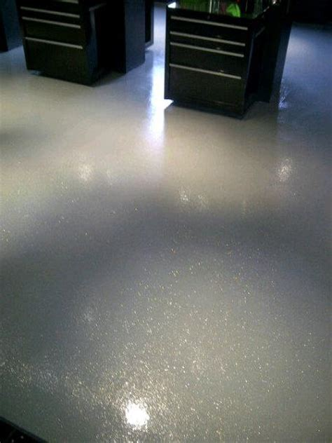 Specialty Floors   Silver Glitter   Sledge Concrete Coatings