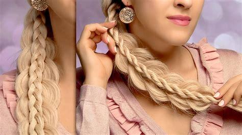 cute  easy   school hairstyles  long hair