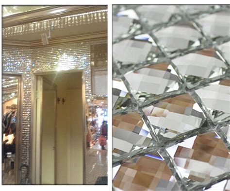 buy wholesale beveled mirror tile from china