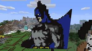 creative pixel art ideas batman collection minecraft With minecraft pixel art templates batman