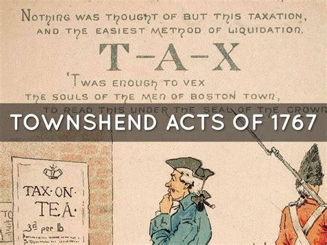 Image result for Townshend Revenue Acts