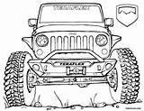 Jeep Coloring Wrangler Bronco Teraflex Lifted Clipart Drawing Unlimited 4x4 공부 색칠 Jeeps Kolorowanka Cherokee Cool Sketch Jk Military Clip sketch template