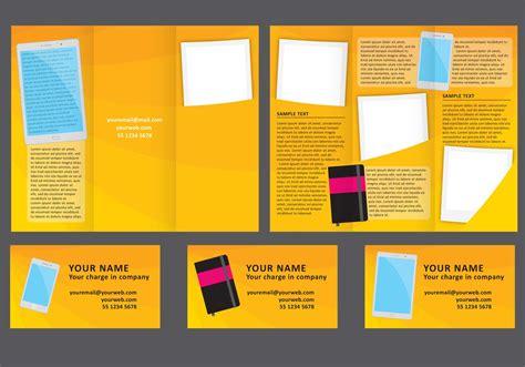 design fold brochure   vectors clipart