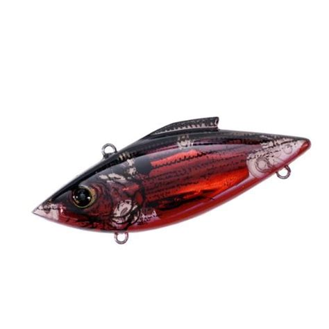 rattletrap lure rat l trap lures 1 4 ounce mini trap lectric red shad