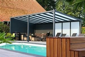 Terrassenüberdachung Holz Freistehend : terrassen berdachung freistehend aus aluminium ~ Frokenaadalensverden.com Haus und Dekorationen